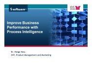 Process Intelligence - IDS Scheer AG