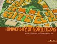 UNT Dallas Master Plan - University of North Texas System