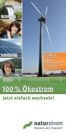 AK : naturstrom IW M  CO einsparen