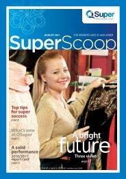 Super Scoop August 2011 - QSuper - Queensland Government