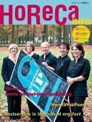 horecainfo nov 09:horecainfo-juli 05 - FNV Horecabond
