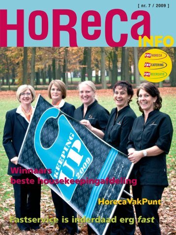 horecainfo nov 09:horecainfo-juli 05 - FNV Horecabond