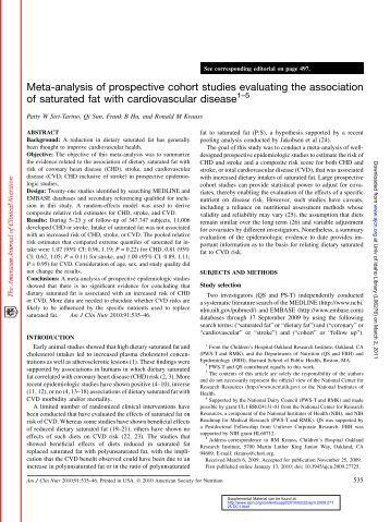 Cohort studies - StatsRef.com