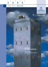 Výročná správa 2003