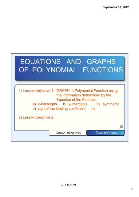 EQUATIONS AND GRAPHS OF POLY FCNS NOTE pdf