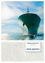 Hesse Newman Shipping Opportunity - Beteiligungsvergleich24.de