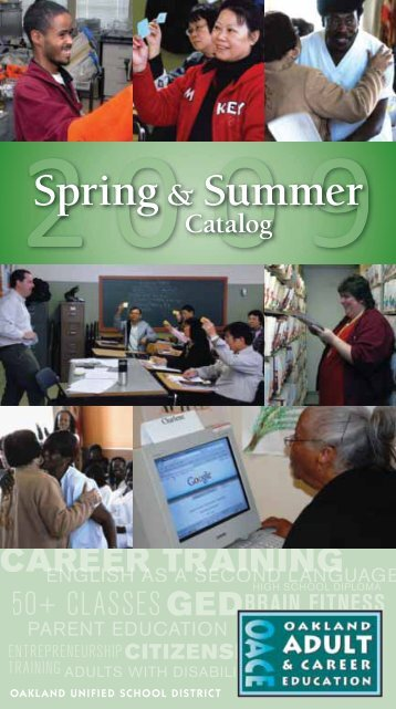 Spring& Summer - Oakland Unified School District