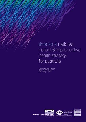 Background Paper - Public Health Association of Australia