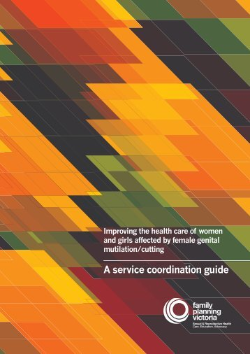 A service coordination guide - Family Planning Victoria