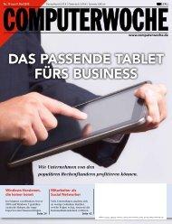 DAS PASSENDE TABLET FÜRS BUSINESS