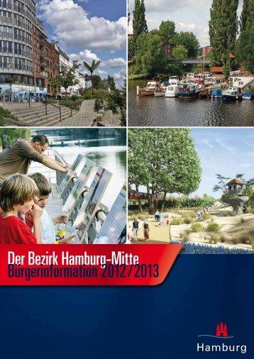 Der Bezirk Hamburg-Mitte Bürgerinformation 2012 / 2013 - Inixmedia