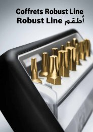 Robust Line مقطأ Coffrets Robust Line - Bosch