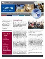 Career Resource Center - University at Buffalo School of Management