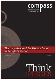 The importance of the Welfare State under globalisation - Support