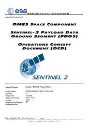 GSC Sentinel-2 PDGS OCD - Emits - ESA