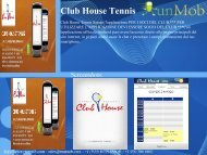 Club House Tennis - RunMob