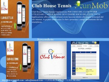 Club House Tennis - RunMob