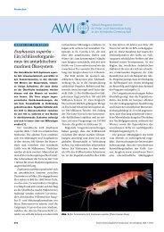 Euphausia superba - Naturwissenschaftliche Rundschau