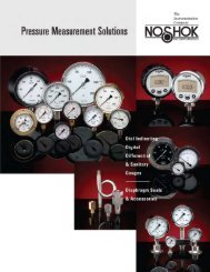 Pressure Measurement Solutions Catalog - Royal Hydraulics