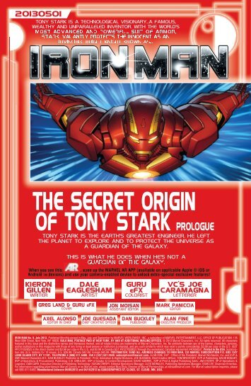 IRON MAN No. 9, July 2013. Published Monthly ... - PREVIEWSworld