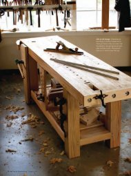 how to flatten a workbench's top.