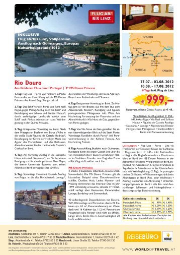 ab € 999,– - World of Travel