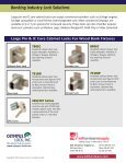 BANKING INDUSTRY LOCK SOLUTIONS - KDL Hardware Supply - Page 2