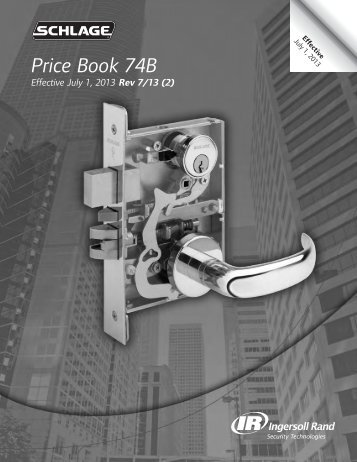 SCHLAGE JULY 2013 REV 7-20-13 PRICE BOOK.pdf - Access ...