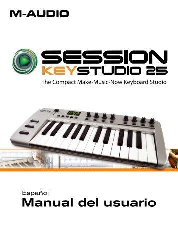 KeyStudio 25 • Manual del usuario - M-Audio