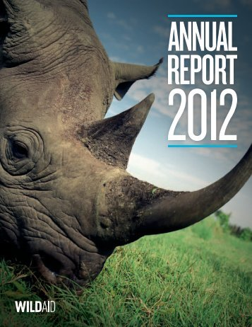 2012 Annual Report - WildAid