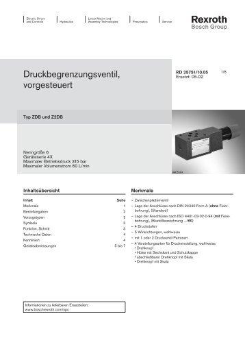 rd25751 - Bosch Rexroth