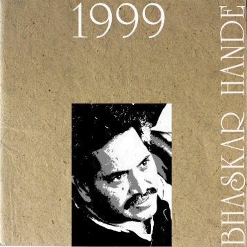 Bhaskar Hande in Blackheath Gallery London UK