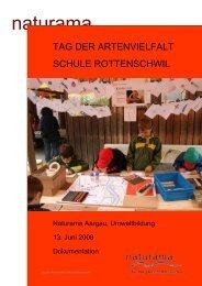 Tag der Artenvielfalt Schule Rottenschwil - Naturama