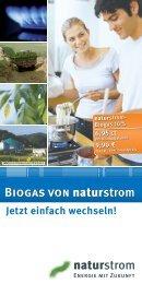 AS P naturstrom-Biogas