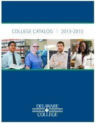 College Catalog | 2011-2013 - Delaware Technical Community ...