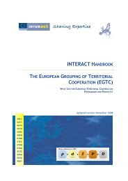 interact handbook - Hungary-Romania Cross-Border Co-operation ...