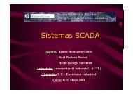 Projecte 21: Sistemas SCADA