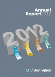 Annual Report 2012 Download pdf - Bonfiglioli