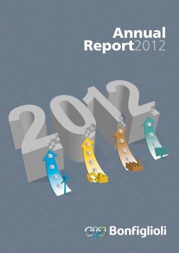Annual Report 2012 Download pdf - Bonfiglioli