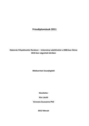 Módszertan (pdf) - Felvi.hu