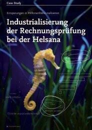 Industrialisierung der Rechnungsprüfung bei der ... - solutionproviders
