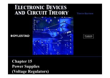 Chapter 15 Power Supplies - Webstaff.kmutt.ac.th