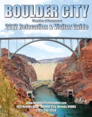 ( 8MB PDF ) A colorful and complete guide to Boulder City