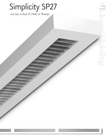 Simplicity SP27   Architectural Lighting Associates (ALA, Inc.)