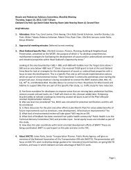 Bicycle and Pedestrian Advisory Committee ... - City of Oakland
