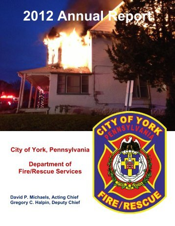 2012 Annual Report - City of York