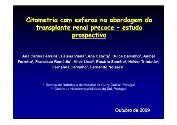 Citometria Citometria com esferas na abordagem do com esferas na ...