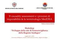Deidda_Il causality assessment, i processi di imputabilità e