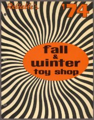 Fall and Winter Toy Shop - 1974 PDF download - Canadian ...
