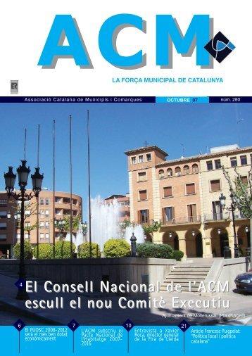Núm. 280 - Octubre 2007 - Associació Catalana de Municipis